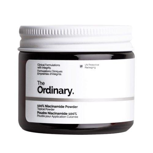 پودر نیاسینامید 100% خالص اوردینری اصل (ضد لک، ضد جوش و جای جوش، رفع منافذ باز و قرمزی و التهاب پوست) - The Ordinary 100% Niacinamide Powder 20g