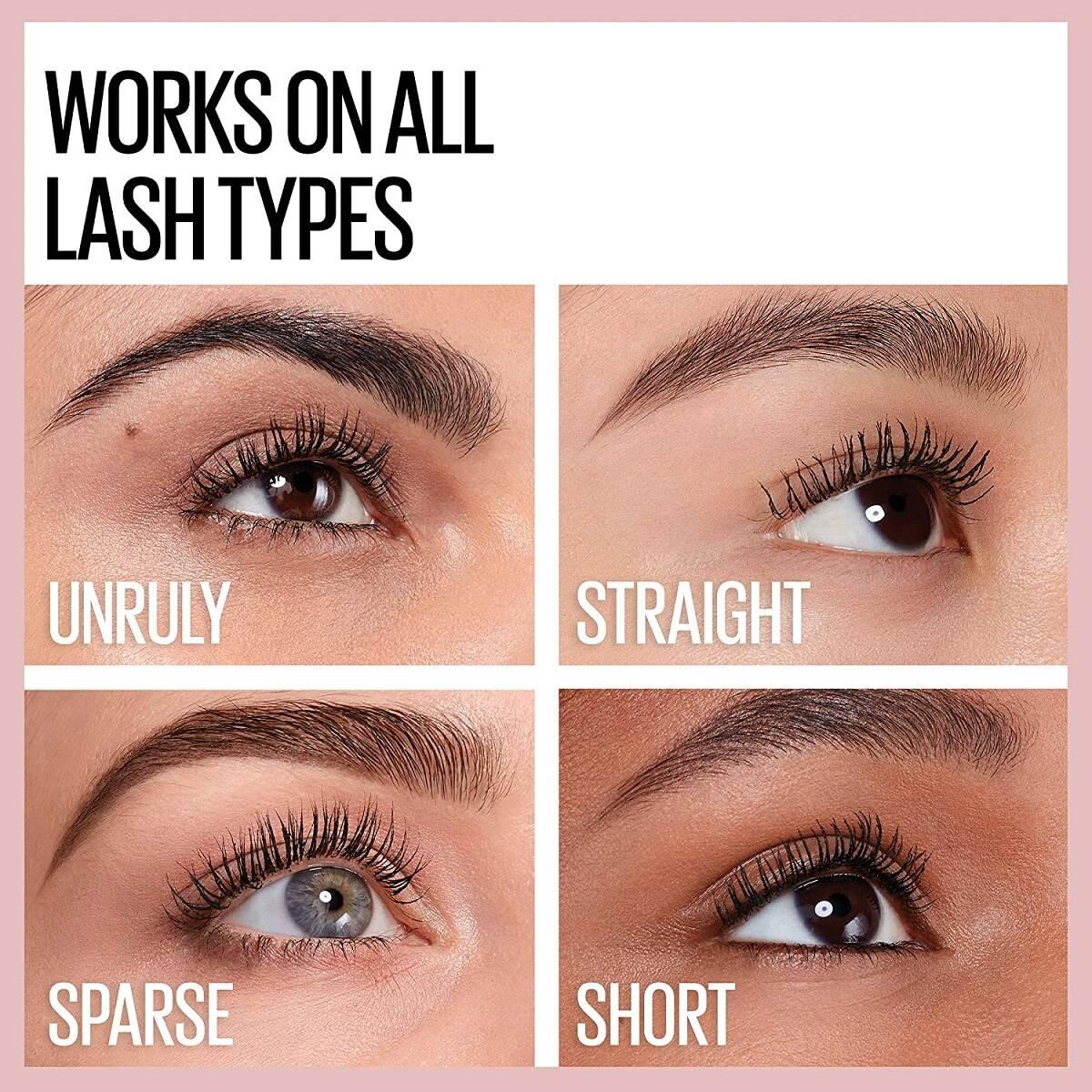 ریمل حجم دهنده و بلندکننده Sensational میبلین اصل افزایش طول و ضخیم کننده مژه - Maybelline Cils Lash Sensational Mascara