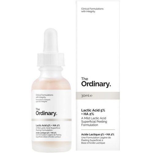 سرم لاکتیک اسید 5 درصد اوردینری اصل سرم صورت لایه بردار ضد لک و روشن کننده ضد تیرگی - The Ordinary Lactic Acid 5% + HA Superficial Peeling Formulation 30ml