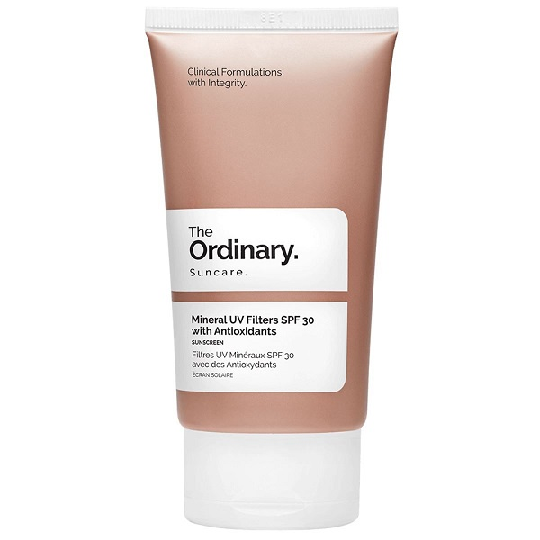 کرم ضد آفتاب مینرال آنتی اکسیدان اوردینری حجم 30 میل | The Ordinary Mineral Filters Spf 30 With Antioxidant 50ml