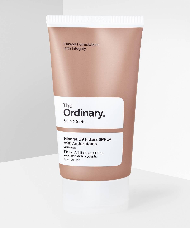 کرم ضد آفتاب مینرال آنتی اکسیدان اوردینری حجم 30 میل   The Ordinary Mineral Filters Spf 30 With Antioxidant 50ml