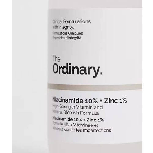قیمت و خرید سرم نیاسینامید و زینک اوردینری اصل - سرم ضد جوش و ضد منافذ باز و قرمزی جای آکنه - The Ordinary Niacinamide 10% zinc 1% Serum