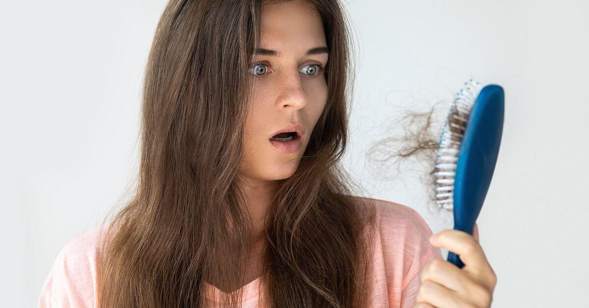 ریزش مو و درمان آن با شامپو ضد ریزش