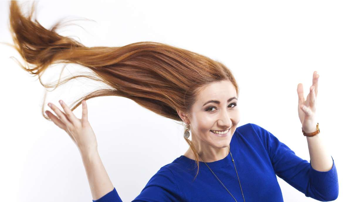 استفاده ازشامپو تقویتی و مغذی مو