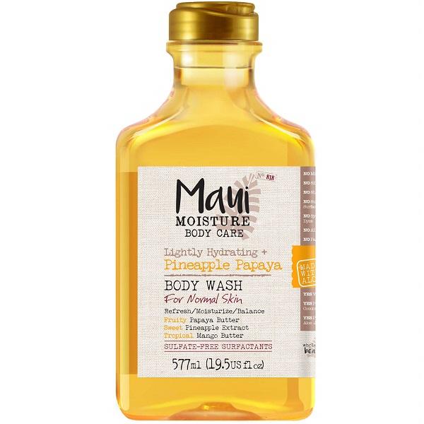 قیمت و خرید شامپو بدن آناناس و پاپایا مائویی (شامپو بدن سولفات فری مائویی) - Maui Moisture Pineapple Papaya Body Wash