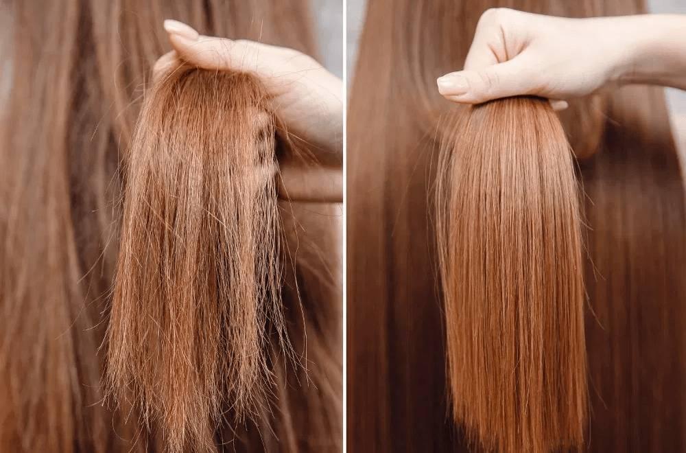 ماسک مو برای موی خشک و وز