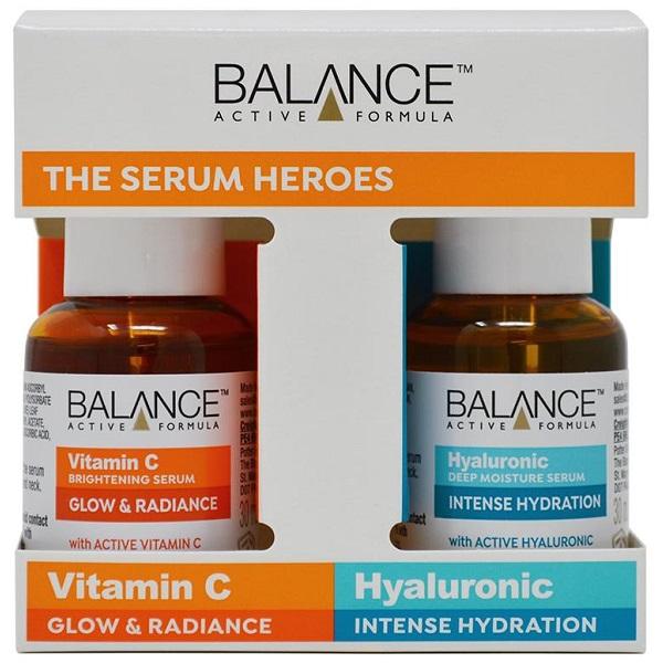 قیمت و خرید پک ویتامین سی و هیالورونیک اسید بالانس BALANCE
