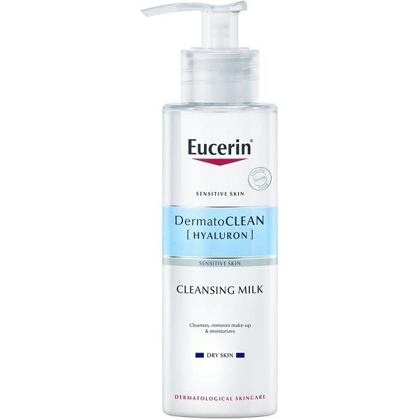 قیمت و خرید شیرپاکن هیالورون DermatoCLEAN اوسرین - شیرپاککن پوست خشک و حساس اوسرین Eucerin HYALURON