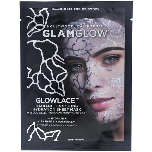 قيمت و خريد شیت ماسک آبرسان گلم گلو – ماسک ورقه ای درخشان کننده و انرژی دهنده پوست صورت Glamglow