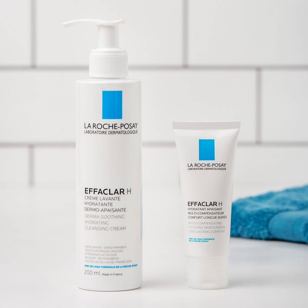 محصولات مناسب پوست چرب و جوش دار لاروش پوزای اصل فرانسه از لاین Effaclar H