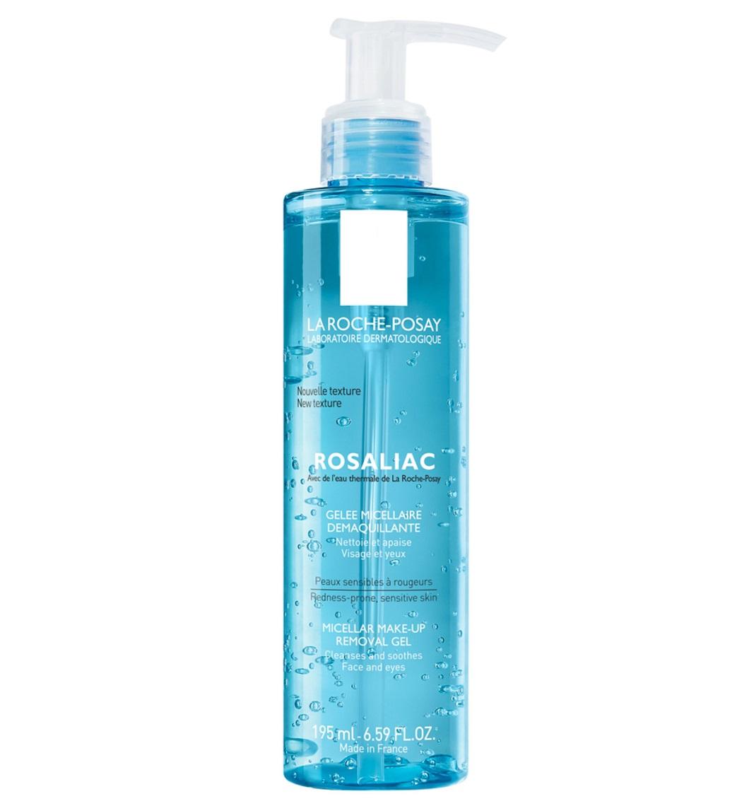 قیمت و خرید ژل پاک کننده آرایش پوست حساس لاروش پوزای فرانسه - ژل تمیزکننده میسلار Rosaliac لاروش پوزای La Roche Posay