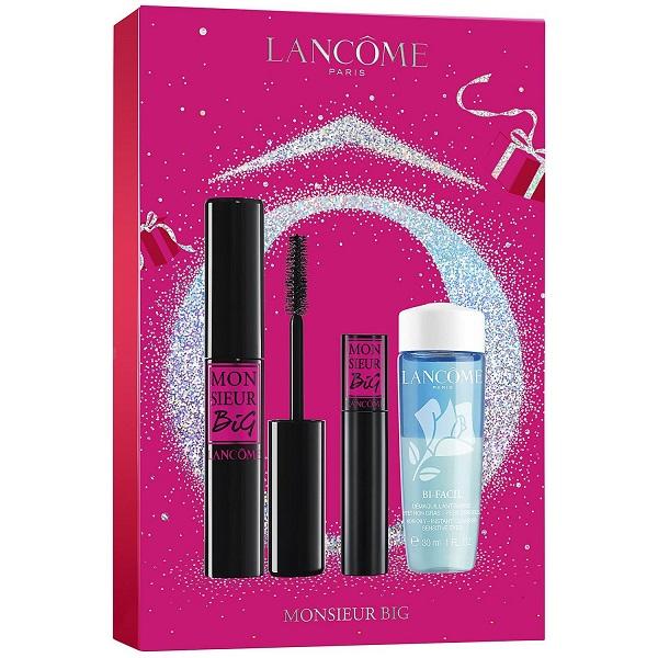 قیمت و خرید ست ریمل لانکوم مدل موسیو بیگ به همراه پاک کننده آرایش چشم Lancôme Monsieur Big Mascara Set