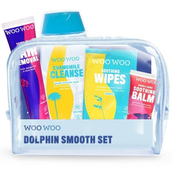 قیمت و خرید گیفت ست دلفین woo woo انگلیس محصولات بهداشتی بانوان - زنانه